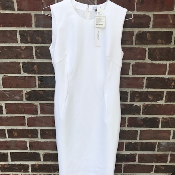 online store c7c54 6e188 versace collection white donna dress new with tags NWT
